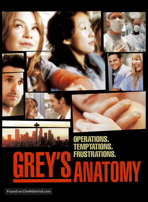 """Grey's Anatomy"" - Movie Poster"