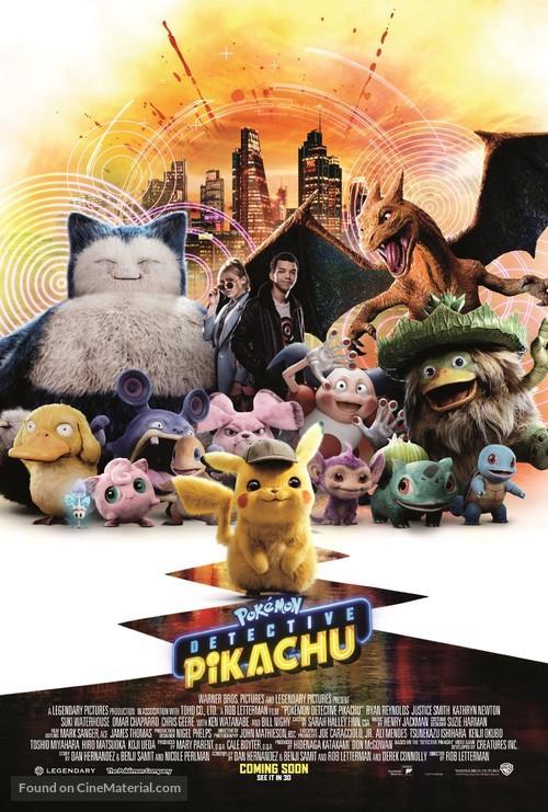 Pokémon: Detective Pikachu - British Movie Poster