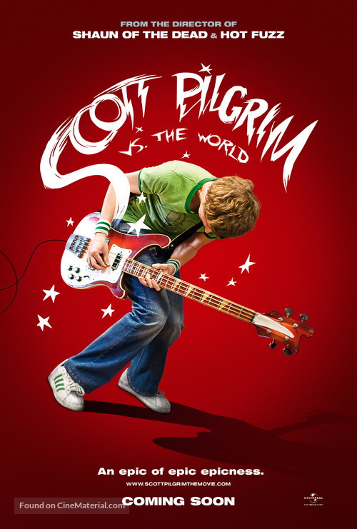 Scott Pilgrim vs. the World - Movie Poster