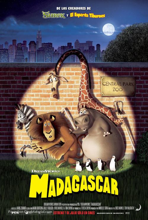 Madagascar - Argentinian Movie Poster