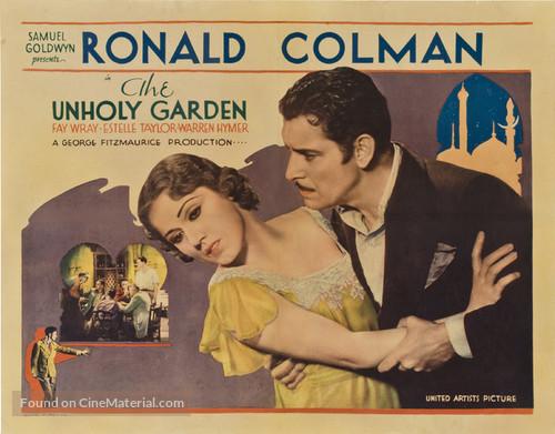 The Unholy Garden - Movie Poster
