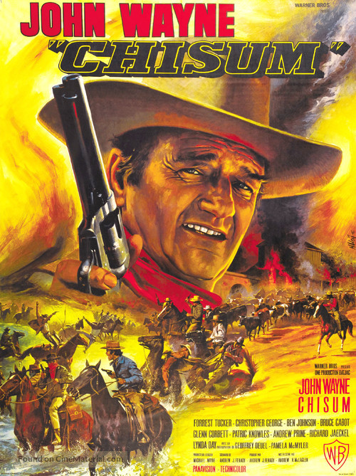 Chisum - French Movie Poster
