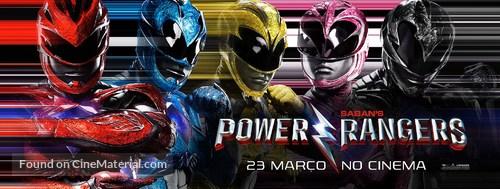 Power Rangers - Portuguese Movie Poster
