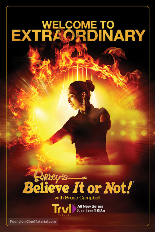 """""""Ripley's Believe It or Not!"""" - Movie Poster"""