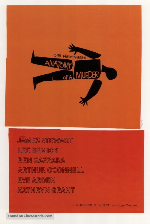 Anatomy of a Murder - Movie Poster