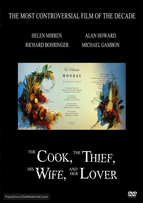 The Cook the Thief His Wife & Her Lover - Movie Cover