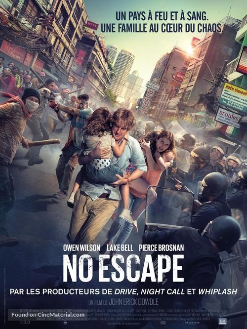 No Escape - French Movie Poster