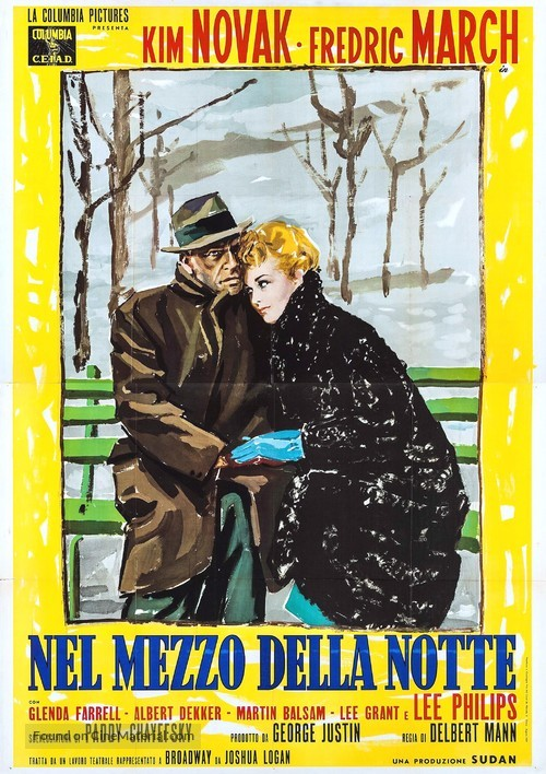 Middle of the Night - Italian Movie Poster