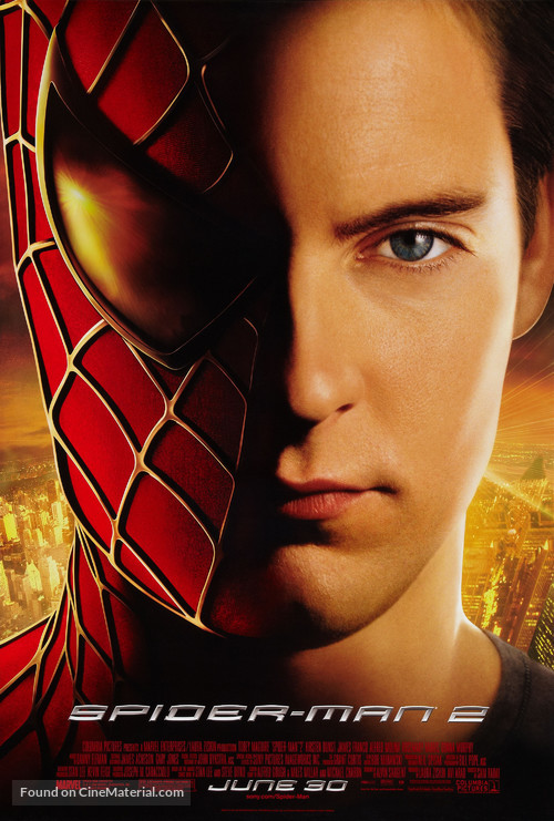Spider-Man 2 - Advance movie poster