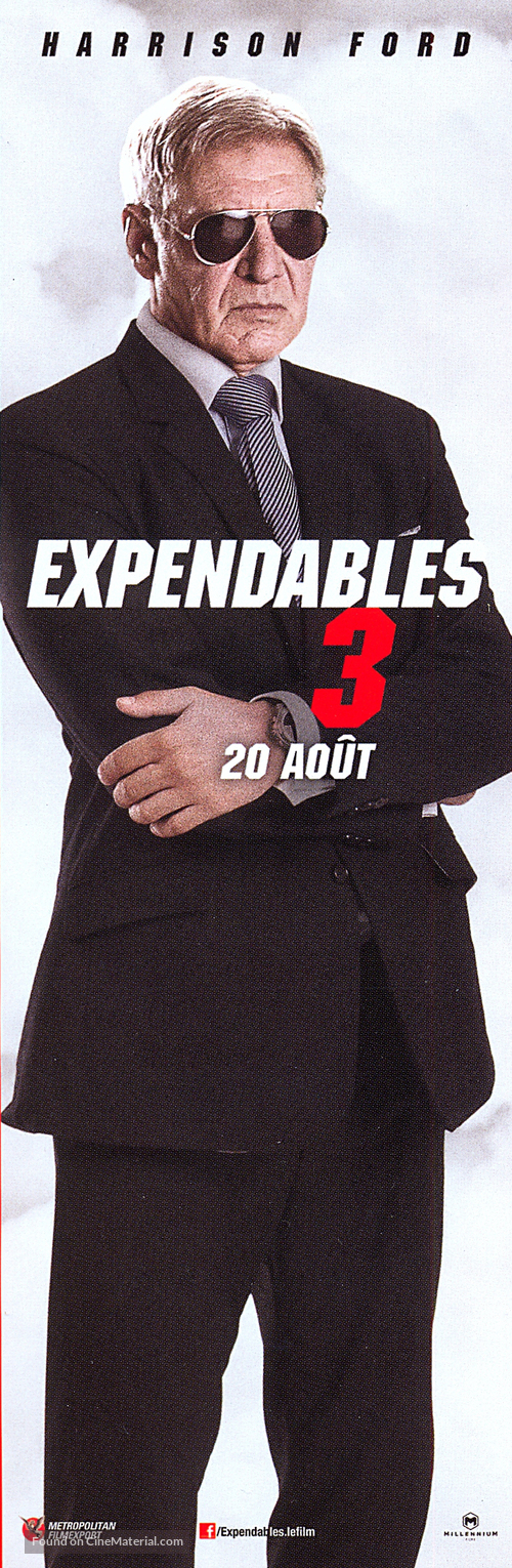 The Expendables 3 - French Movie Poster