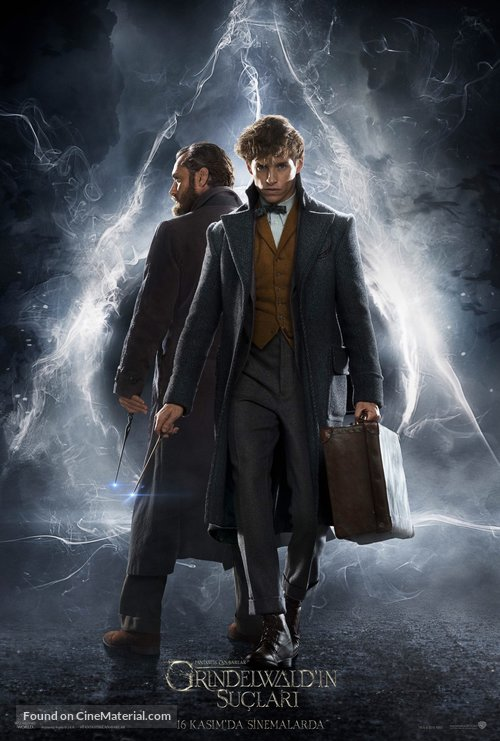 Fantastic Beasts: The Crimes of Grindelwald - Turkish Movie Poster