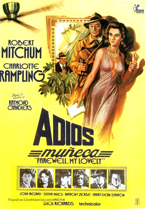Farewell, My Lovely - Spanish Movie Poster