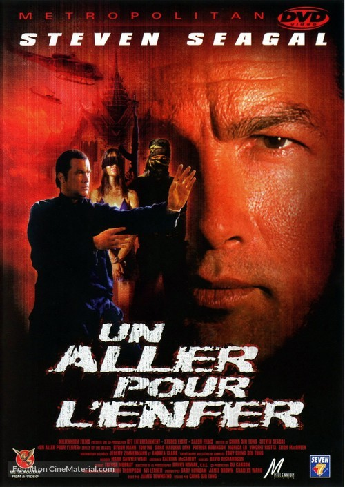 Belly Of The Beast - French DVD cover