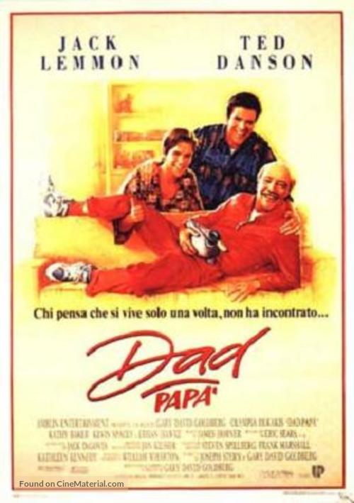 Dad - Italian Movie Poster