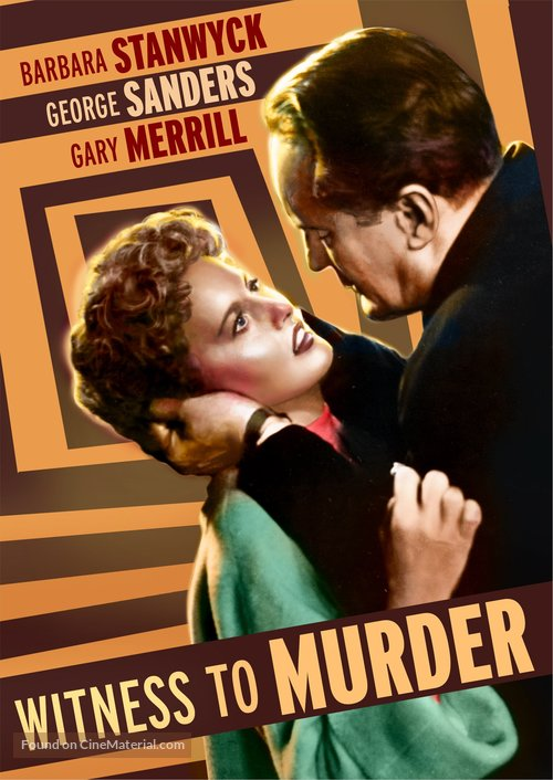 Witness to Murder - DVD movie cover