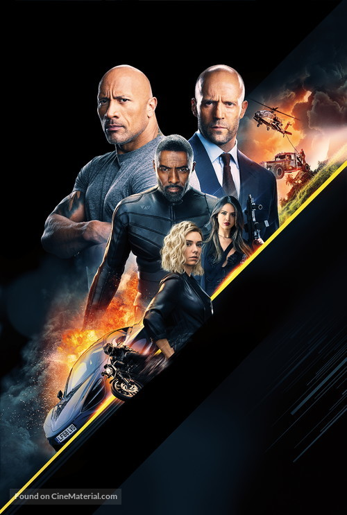 Fast & Furious Presents: Hobbs & Shaw - Key art