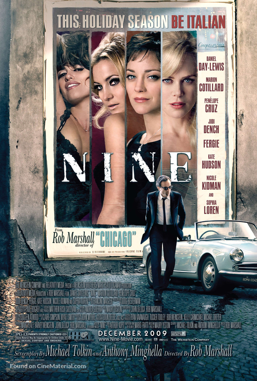 Nine - Movie Poster