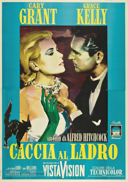 To Catch a Thief - Italian Movie Poster