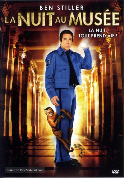 Night at the Museum - French Movie Cover
