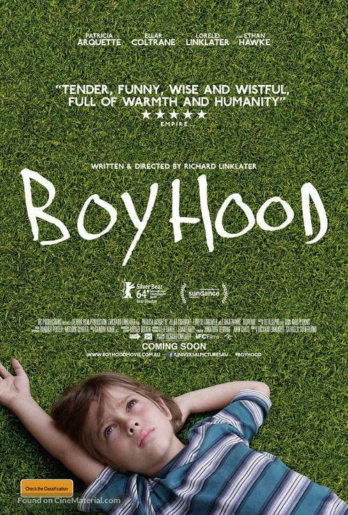 Boyhood - Australian Movie Poster