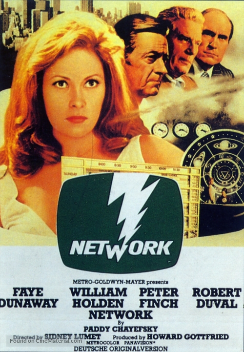 Network - Movie Poster