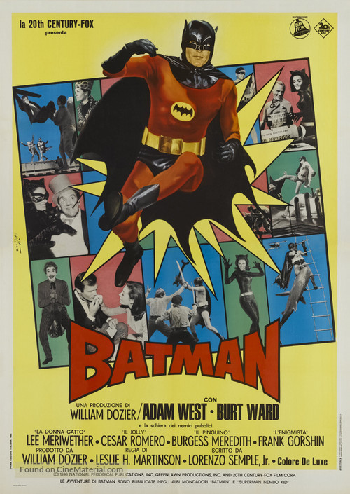 Batman - Italian Theatrical movie poster