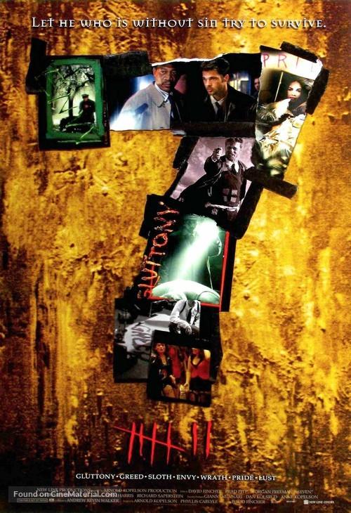 Se7en - Movie Poster