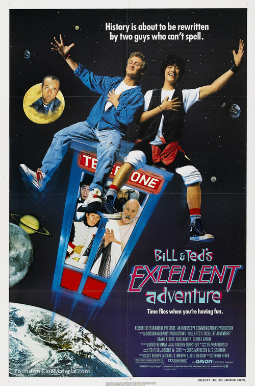 Bill & Ted's Excellent Adventure - Movie Poster