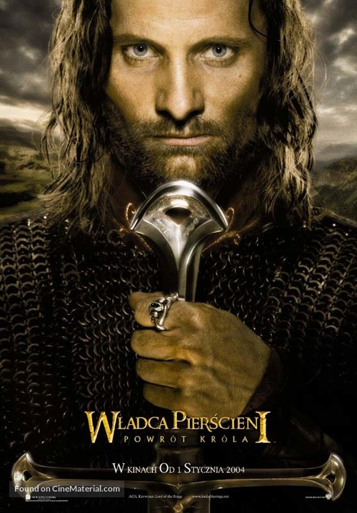 The Lord of the Rings: The Return of the King - Polish Movie Poster