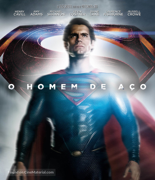Man of Steel - Brazilian Blu-Ray movie cover