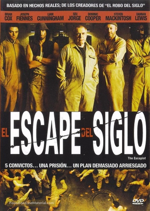 The Escapist Mexican Dvd Cover