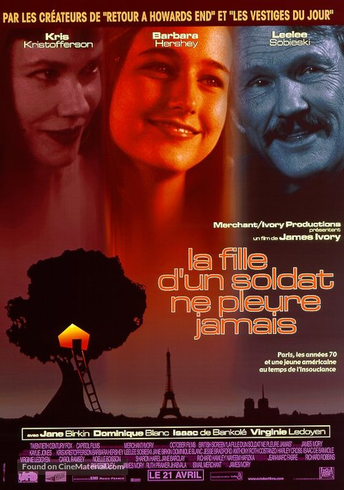 A Soldier's Daughter Never Cries - French Movie Poster