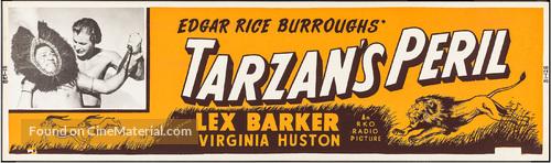 Tarzan's Peril - Movie Poster