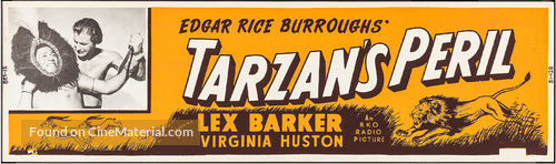 Tarzan's Peril - Movie Poster