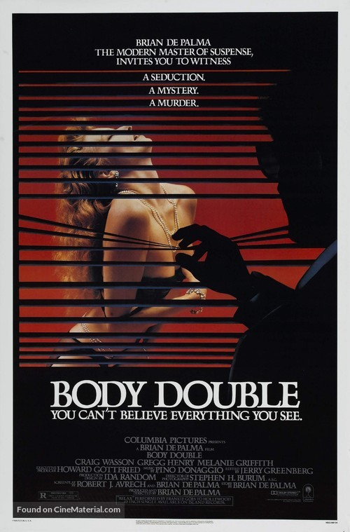 Body Double - Theatrical poster