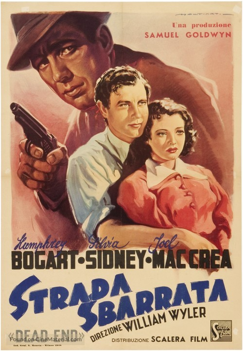 Dead End - Italian Movie Poster