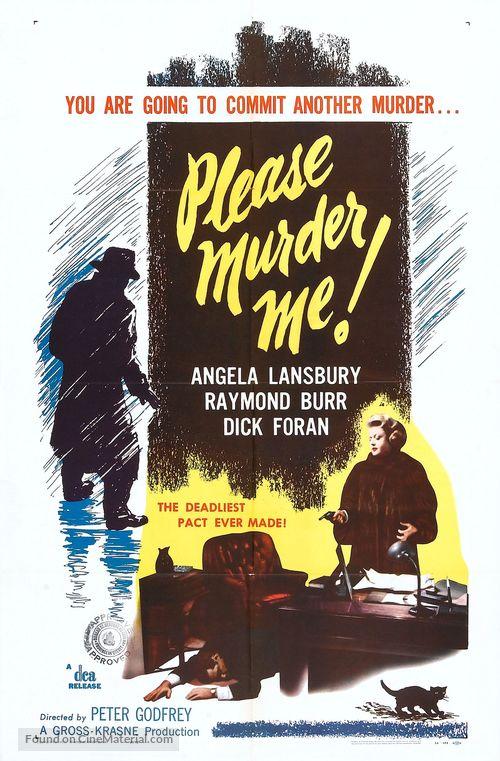 Please Murder Me - Movie Poster