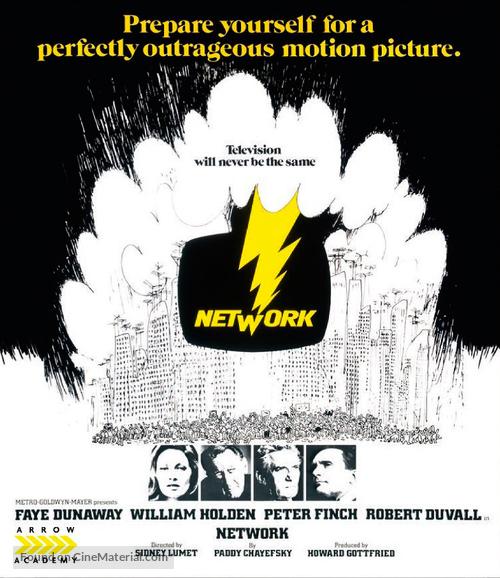 Network - British Blu-Ray cover