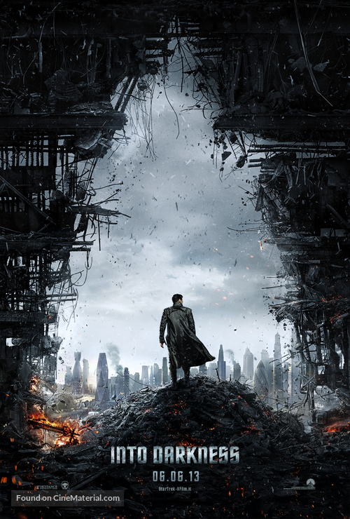 Star Trek: Into Darkness - Italian Movie Poster