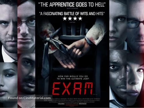Exam - British Movie Poster