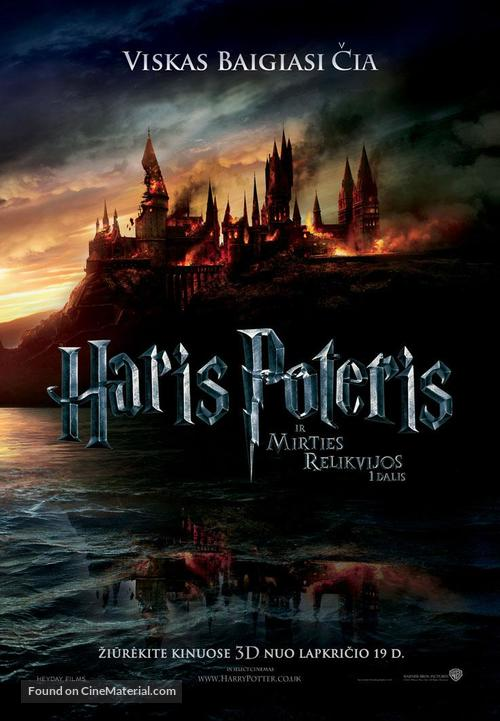 Harry Potter and the Deathly Hallows: Part I - Lithuanian Movie Poster