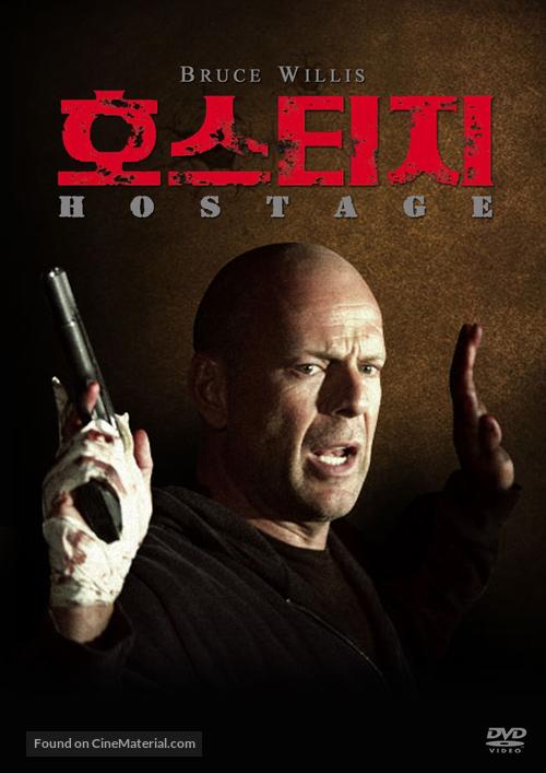 Hostage - South Korean DVD cover