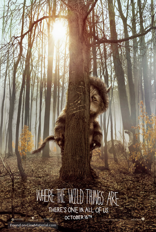 Where the Wild Things Are - Movie Poster