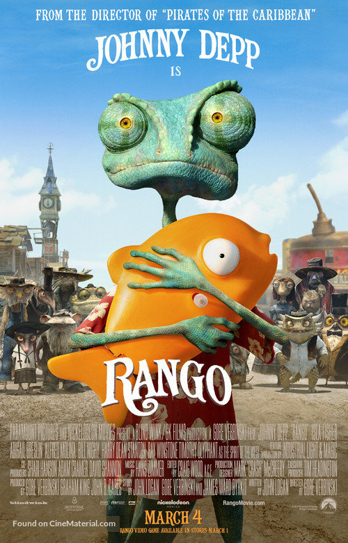 Rango - Movie Poster