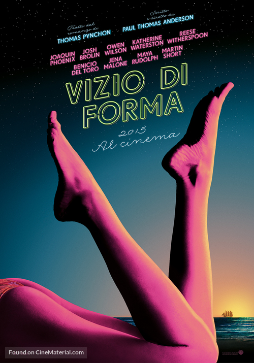 Inherent Vice - Italian Movie Poster