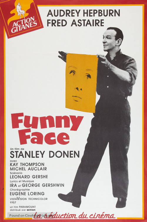 Funny Face - French Movie Poster