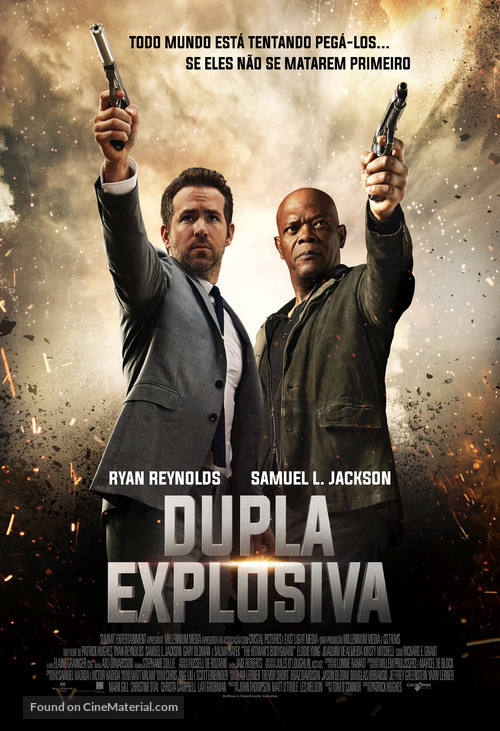 The Hitman's Bodyguard - Brazilian Movie Poster