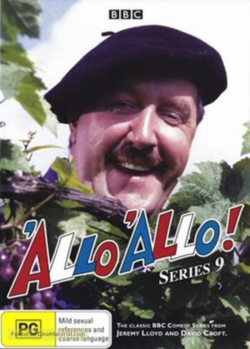 """""""'Allo 'Allo!"""" - New Zealand DVD cover"""