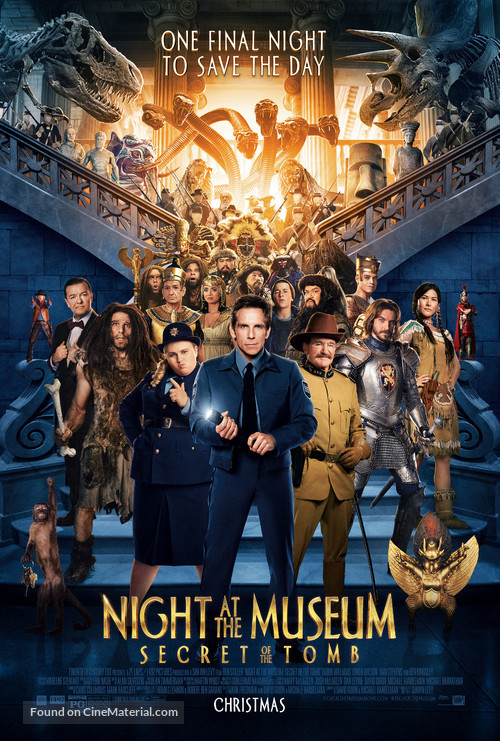 Night at the Museum: Secret of the Tomb - Movie Poster