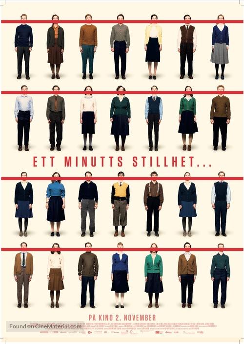 Das schweigende Klassenzimmer - Norwegian Movie Poster